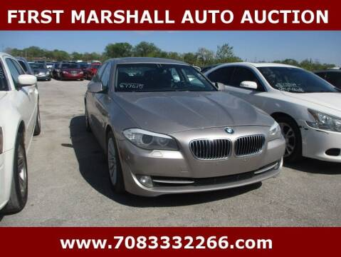 2011 BMW 5 Series for sale at First Marshall Auto Auction in Harvey IL