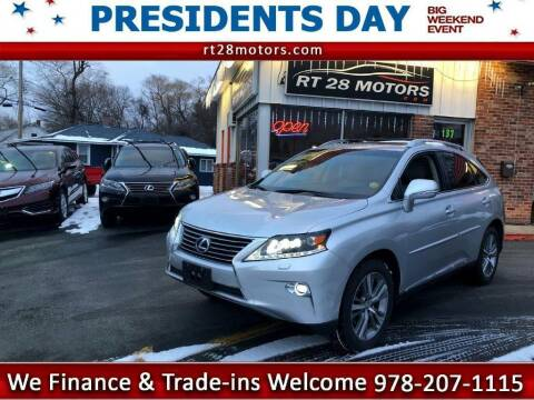 2015 Lexus RX 450h for sale at RT28 Motors in North Reading MA