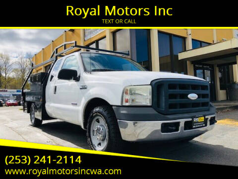 2006 Ford F-250 Super Duty for sale at Royal Motors Inc in Kent WA