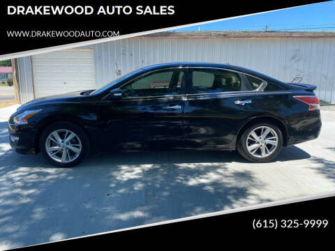 2015 Nissan Altima for sale at DRAKEWOOD AUTO SALES in Portland TN