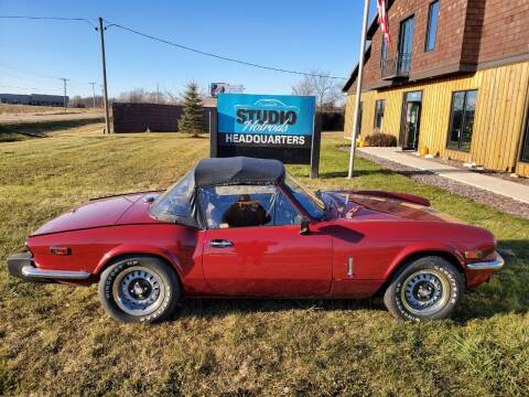 1979 Triumph Spitfire for sale at Studio Hotrods in Richmond IL