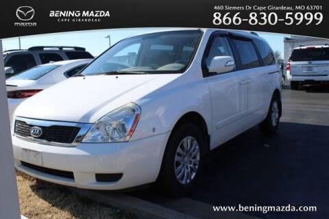 2012 Kia Sedona for sale at Bening Mazda in Cape Girardeau MO