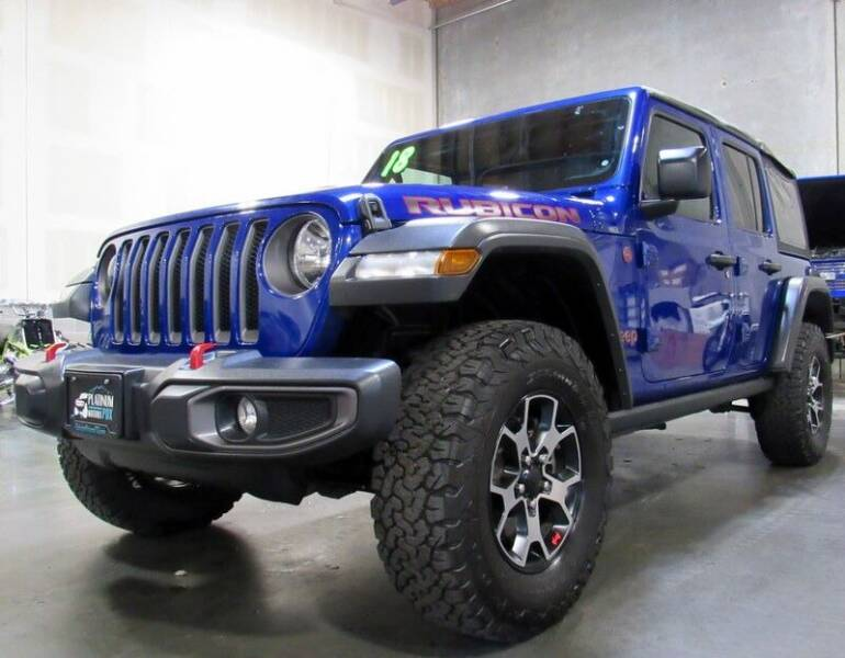 2018 Jeep Wrangler Unlimited for sale at Platinum Motors in Portland OR
