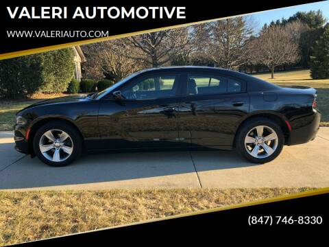 2018 Dodge Charger for sale at VALERI AUTOMOTIVE in Winthrop Harbor IL