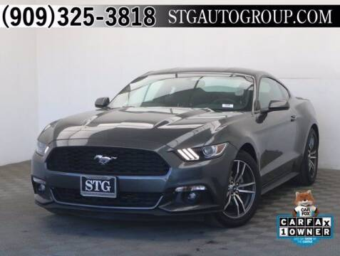2017 Ford Mustang for sale at STG Auto Group in Montclair CA
