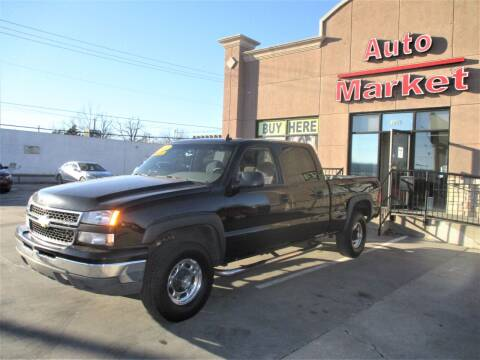 2007 Chevrolet Silverado 1500HD Classic for sale at Auto Market in Oklahoma City OK