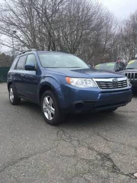 2010 Subaru Forester for sale at TOLLAND CITGO AUTO SALES in Tolland CT