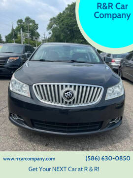 2012 Buick LaCrosse for sale at R&R Car Company in Mount Clemens MI