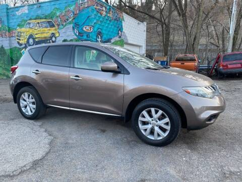 2012 Nissan Murano for sale at Showcase Motors in Pittsburgh PA