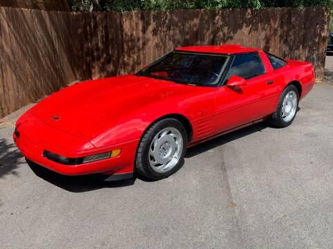 1991 Chevrolet Corvette for sale at TROPHY MOTORS in New Braunfels TX