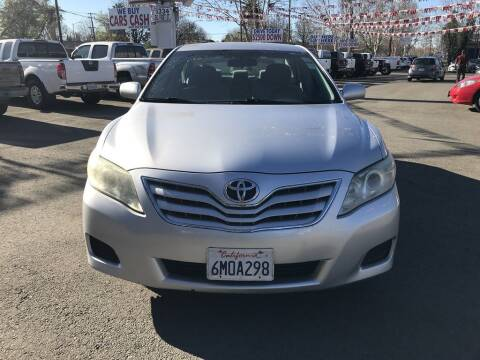 2011 Toyota Camry for sale at EXPRESS CREDIT MOTORS in San Jose CA