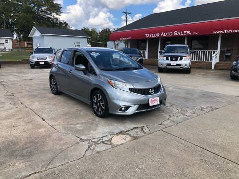2015 Nissan Versa Note for sale at Taylor Auto Sales Inc in Lyman SC