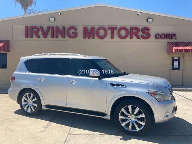 2012 Infiniti QX56 for sale at Irving Motors Corp in San Antonio TX
