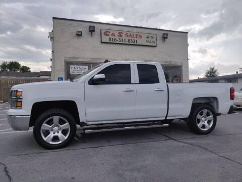 2015 Chevrolet Silverado 1500 for sale at C & S SALES in Belton MO