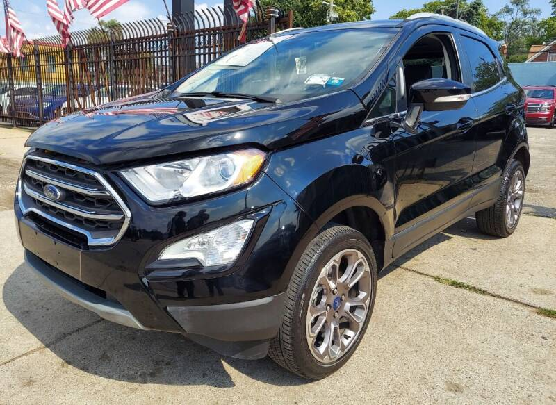 2020 Ford EcoSport for sale at Gus's Used Auto Sales in Detroit MI