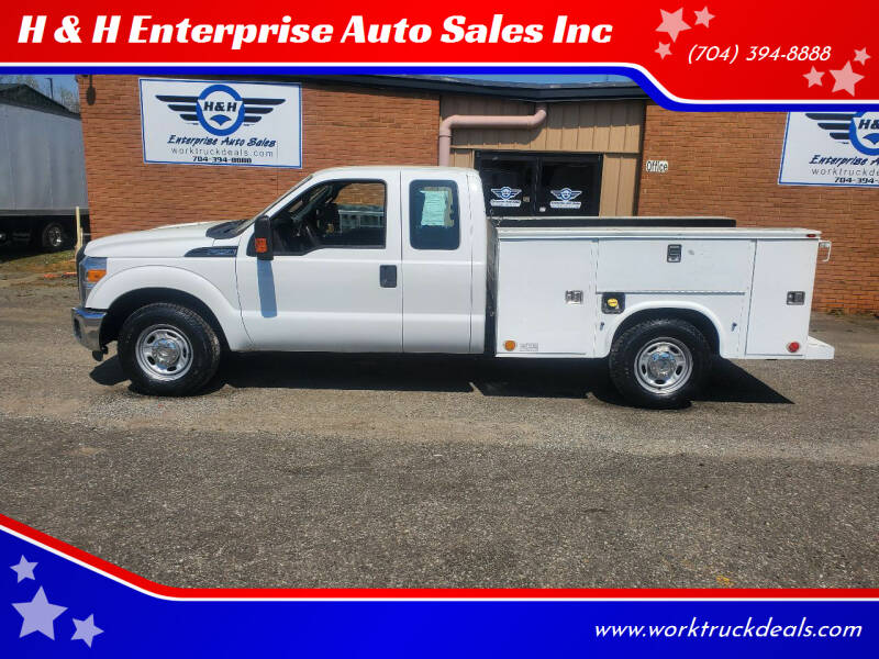 2013 Ford F-250 Super Duty for sale at H & H Enterprise Auto Sales Inc in Charlotte NC