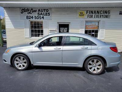 2012 Chrysler 200 for sale at STATE LINE AUTO SALES in New Church VA