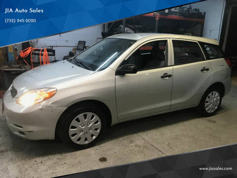 2003 Toyota Matrix for sale at JIA Auto Sales in Port Monmouth NJ