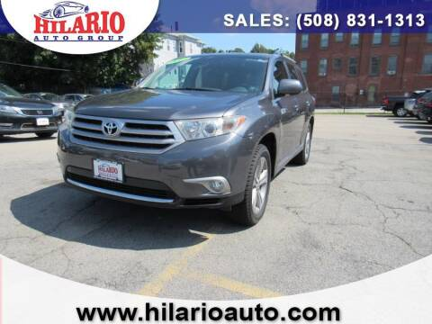 2013 Toyota Highlander for sale at Hilario's Auto Sales in Worcester MA