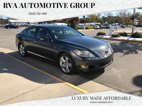 2010 Lexus LS 460 for sale at RVA Automotive Group in North Chesterfield VA