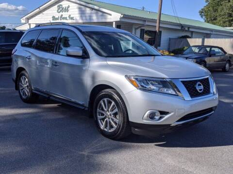 2014 Nissan Pathfinder for sale at Best Used Cars Inc in Mount Olive NC