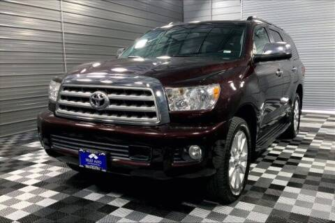 2016 Toyota Sequoia for sale at TRUST AUTO in Sykesville MD