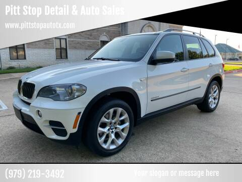 2012 BMW X5 for sale at Pitt Stop Detail & Auto Sales in College Station TX