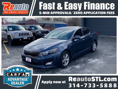 2015 Kia Optima for sale at Reauto in Saint Louis MO