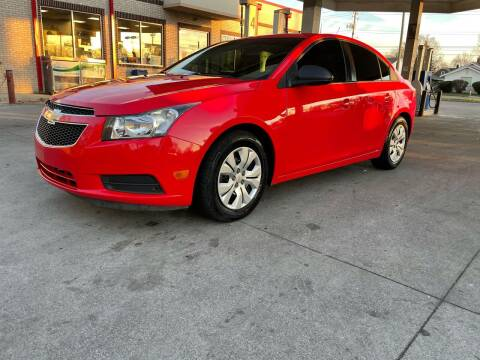 2014 Chevrolet Cruze for sale at JE Auto Sales LLC in Indianapolis IN