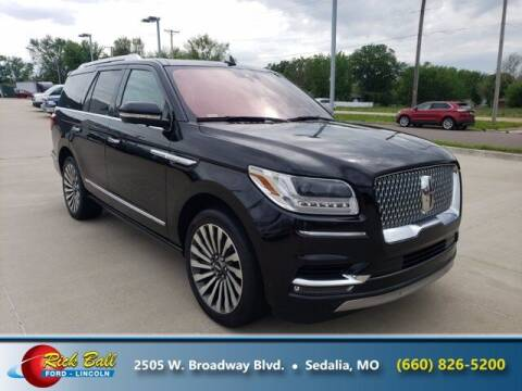 2018 Lincoln Navigator for sale at RICK BALL FORD in Sedalia MO