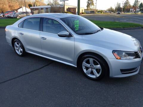 2012 Volkswagen Passat for sale at BETTER BUYS AUTO INC in East Windsor CT