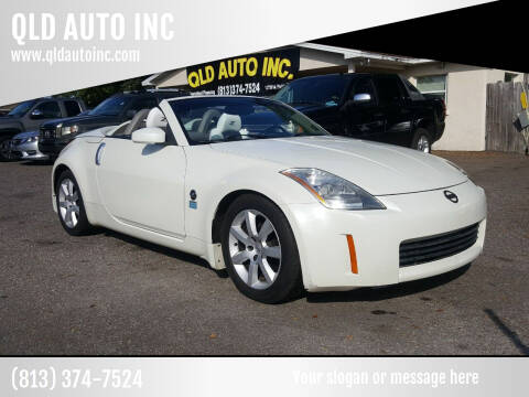 2005 Nissan 350Z for sale at QLD AUTO INC in Tampa FL