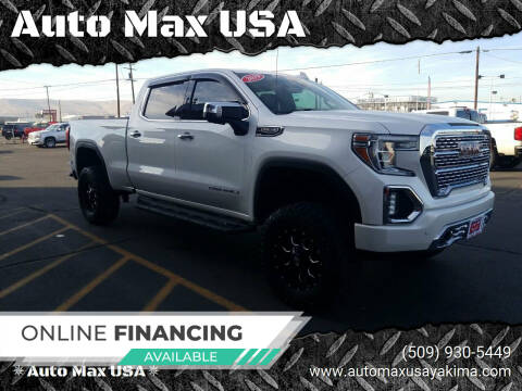 2019 GMC Sierra 1500 for sale at Auto Max USA in Yakima WA