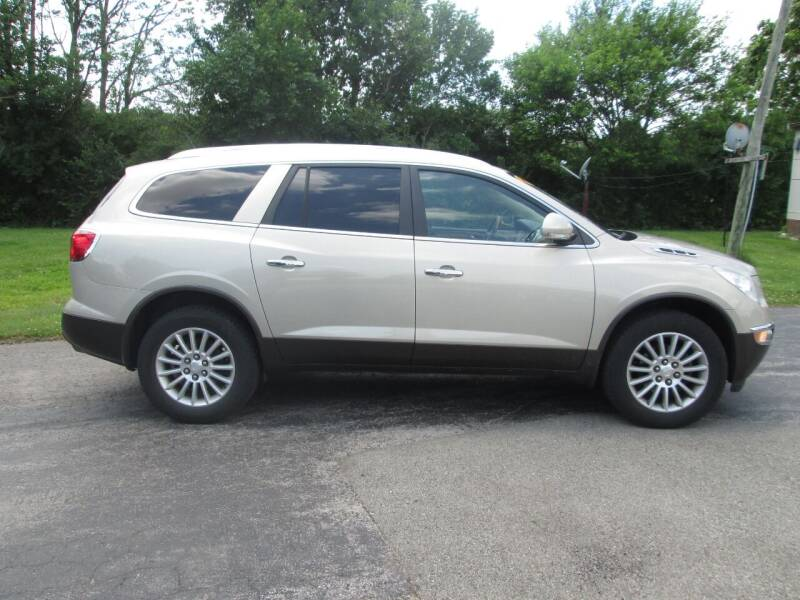 2010 Buick Enclave for sale at Knauff & Sons Motor Sales in New Vienna OH