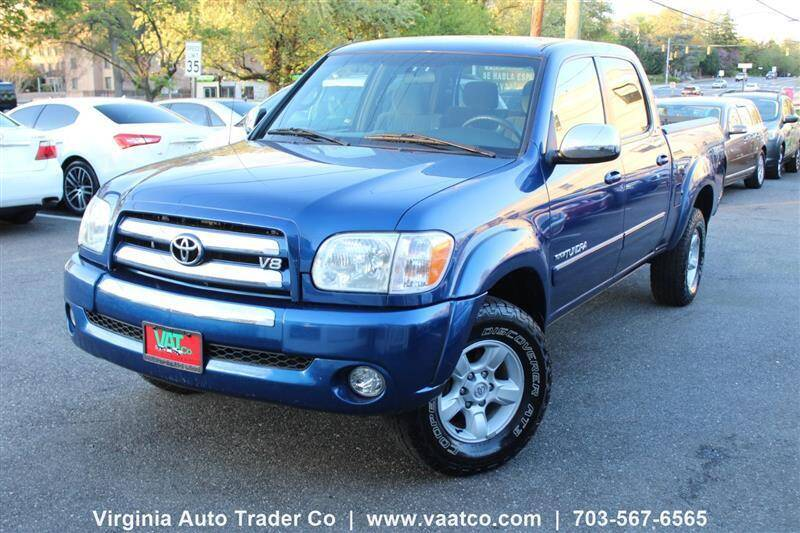 2006 Toyota Tundra for sale at Virginia Auto Trader, Co. in Arlington VA