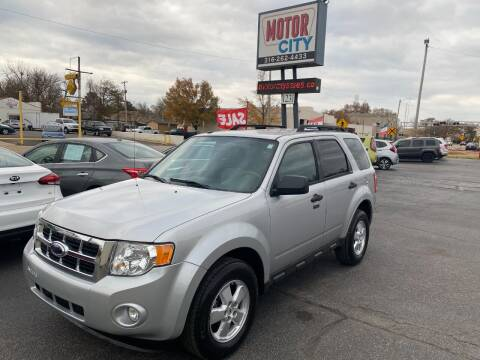 2009 Ford Escape for sale at Motor City Sales in Wichita KS