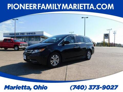 2017 Honda Odyssey for sale at Pioneer Family preowned autos in Williamstown WV