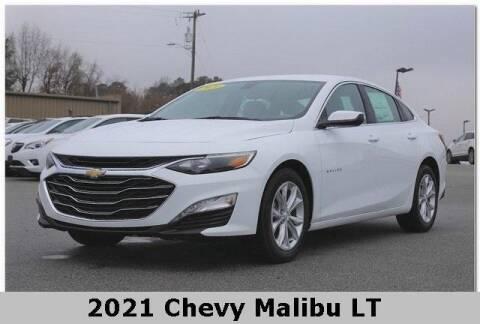 2021 Chevrolet Malibu for sale at WHITE MOTORS INC in Roanoke Rapids NC