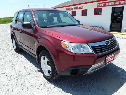 2009 Subaru Forester for sale at Sarpy County Motors in Springfield NE
