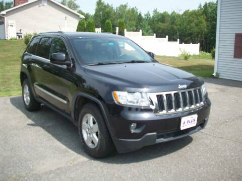 2012 Jeep Grand Cherokee for sale at A-Plus Motors in Alton ME