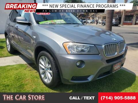 2014 BMW X3 for sale at The Car Store in Santa Ana CA