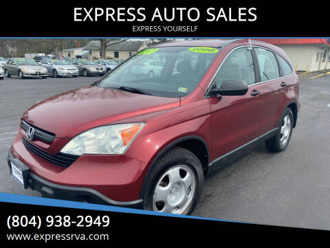 2008 Honda CR-V for sale at EXPRESS AUTO SALES in Midlothian VA