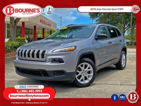 2016 Jeep Cherokee for sale at Bourne's Auto Center in Daytona Beach FL
