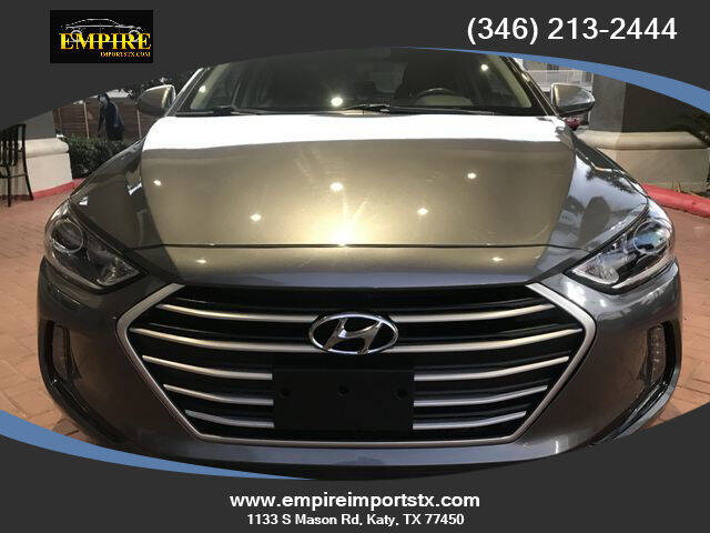 2018 Hyundai Elantra for sale at EMPIREIMPORTSTX.COM in Katy TX