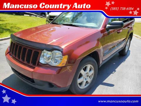 2008 Jeep Grand Cherokee for sale at Mancuso Country Auto in Batavia NY