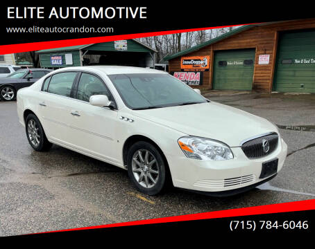 2008 Buick Lucerne for sale at ELITE AUTOMOTIVE in Crandon WI