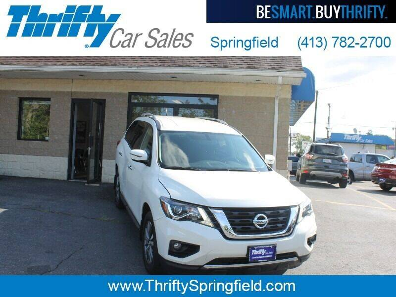 2018 Nissan Pathfinder for sale at Thrifty Car Sales Springfield in Springfield MA