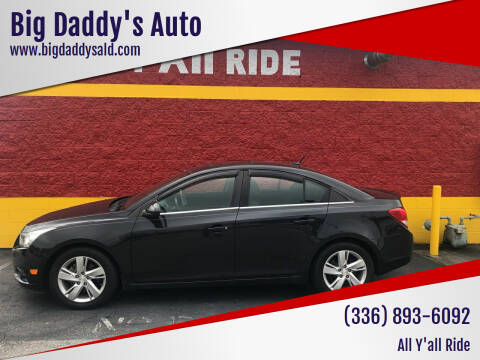 2014 Chevrolet Cruze for sale at Big Daddy's Auto in Winston-Salem NC