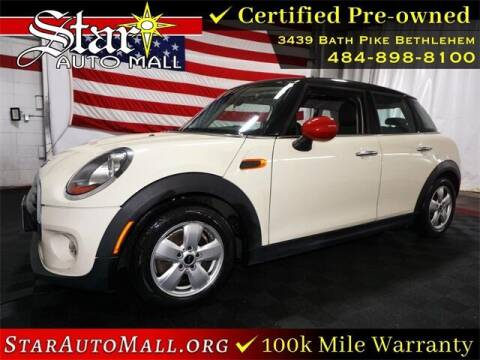 2016 MINI Hardtop 4 Door for sale at STAR AUTO MALL 512 in Bethlehem PA