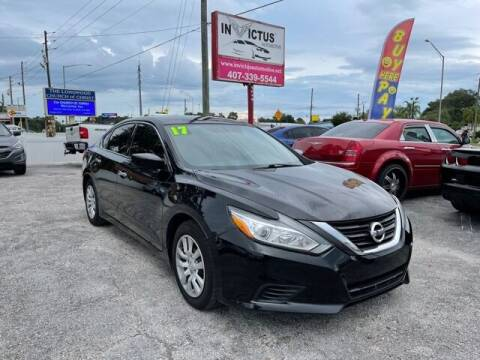 2017 Nissan Altima for sale at Invictus Automotive in Longwood FL